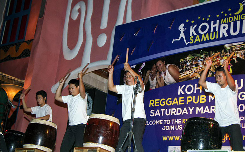 Koh Samui Midnight Run Performance